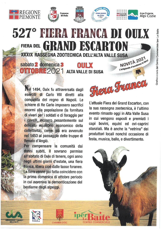 527° FIERA FRANCA DI OULX